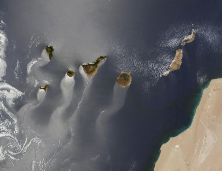 Canarias nubes