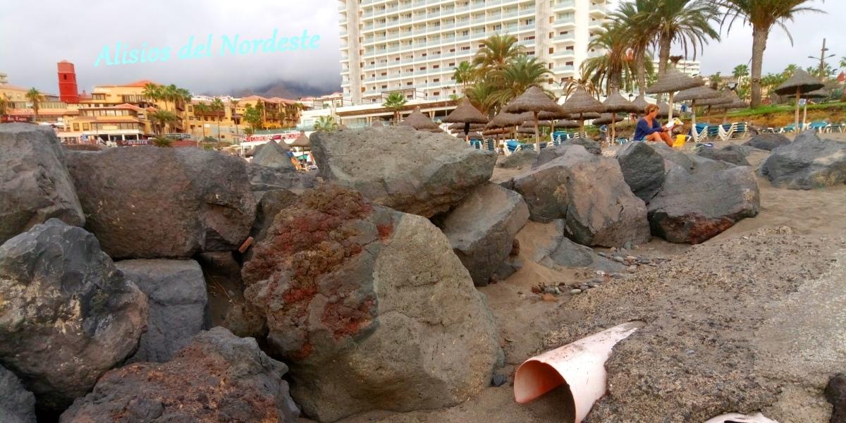 Detectan una mancha de micro-mierda en el sur de Tenerife